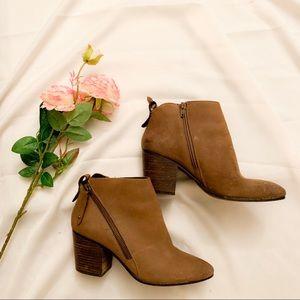 brown steve madden brown booties